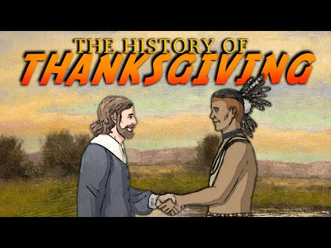 The History of Thanksgiving for Kids!