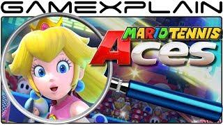Mario Tennis Aces ANALYSIS - Nintendo Direct Breakdown (Secrets & Easter Eggs)