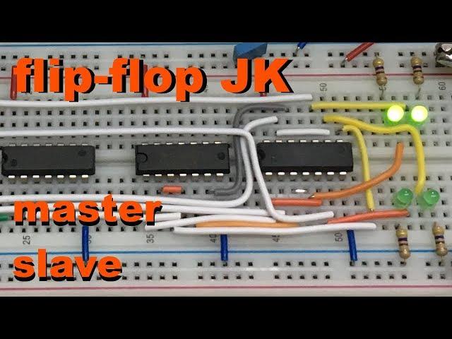 FLIP-FLOP JK MASTER SLAVE | Conheça Eletrônica! #043
