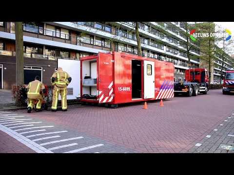 Zeven gewonden door koolmonoxide appartementencomplex Prinses Annalaan Leidschendam (GRIP-1) photo