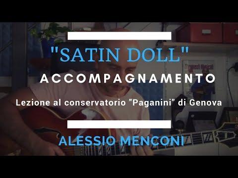 Satin Doll - Accompagnamento-  Alessio Menconi conservatorio di Genova