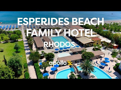 Apollos Esperides Beach Family Hotel på Rhodos