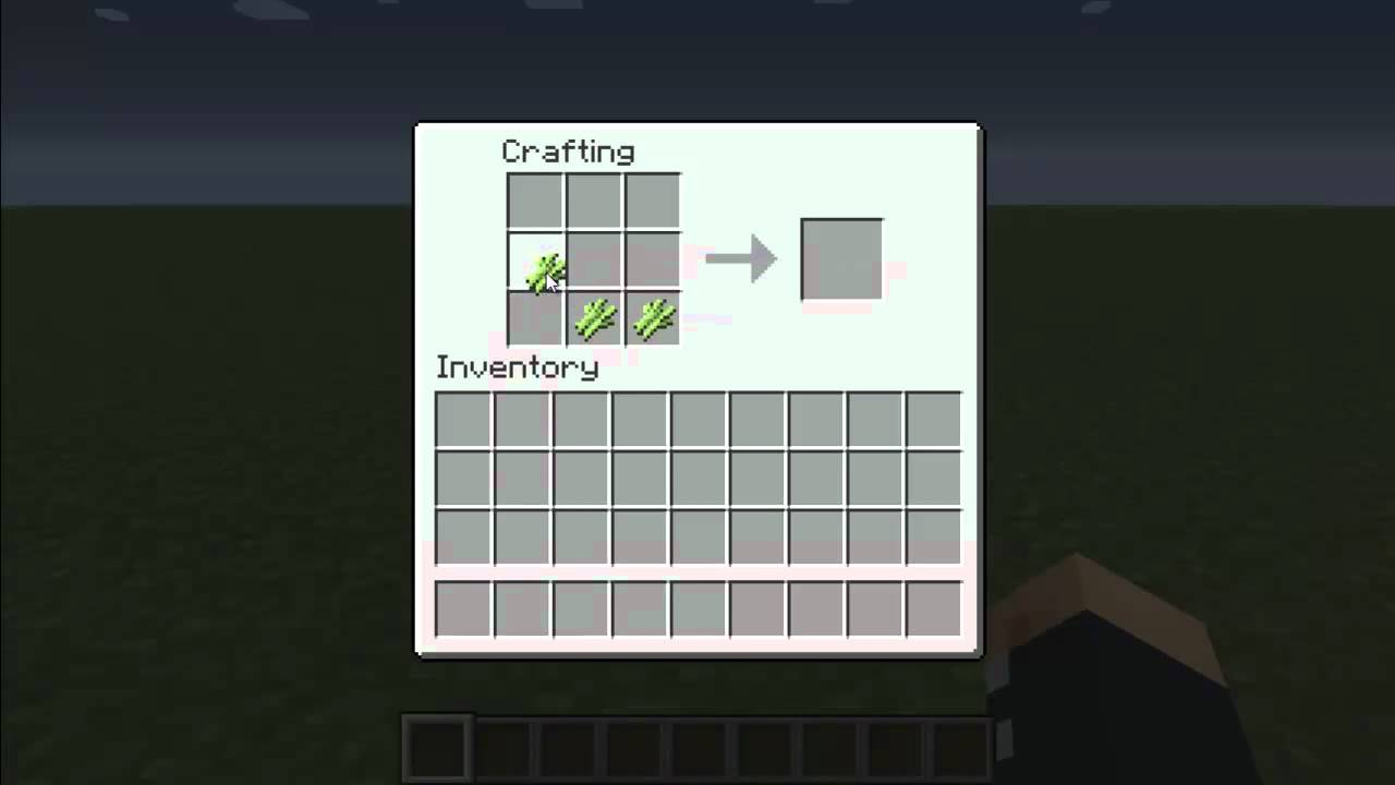 How to write on a piece of paper on minecraft