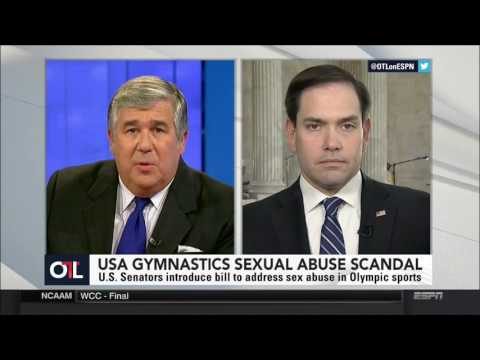Rubio discusses the Protecting Young Victims from Sexual Abuse Act on ESPN