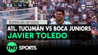 Javier Toledo (1-0) Atlético Tucumán vs Boca Juniors | Fecha 20 - Superliga Argentina 2017/2018
