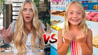 WHO CAN MAKE THE BEST REAL STORE CHALLENGE!!! EVERLEIGH VS SAVANNAH