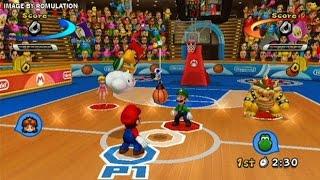 Mario Sports Mix - Mario And Friends Basketball Games - Videos Games - Nintendo Wii Edition