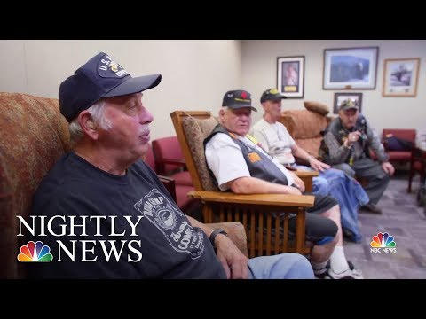 Nationwide Vet Centers Help Combat Veterans Readjust To Everyday Life | NBC Nightly News