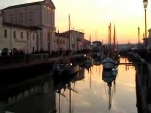 Presepe sulle Barche 2012 a Cesenatico