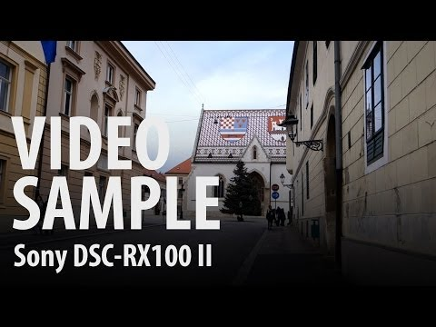 Sony DSC-RX100 II : video sample