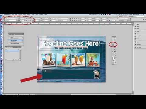 Video Tutorial -  Using Placeholder Text in Adobe InDesign