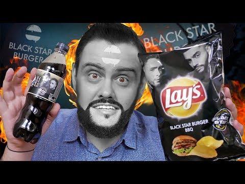 Это Тантум верде чипсы | LAYS со вкусом Black Star Burger и Pepsi vanila dark photo