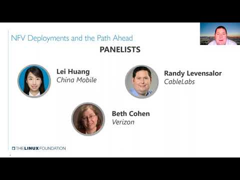 LFN Webinar: NFV Deployments and the Path Ahead: An Operator Perspective