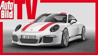 Porsche 911 R (Genf 2016) - Der ultimative Elfer