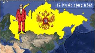 Liên bang Nga Lớn đến mức nào? Nó có phải chỉ là một Quốc Gia không?