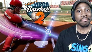 MERCY RULED MY OPPONENT IN 1ST EVER GAME! Super Mega Baseball 2 Online Gameplay Ep. 1