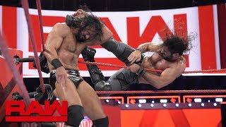 Seth Rollins vs. Drew McIntyre: Raw, Oct. 1, 2018