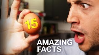15 Amazing facts about Eggs ! Cooking, Science, Everything