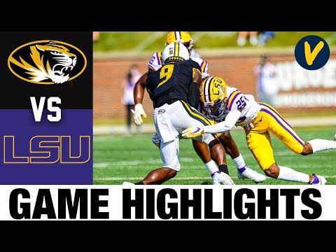 Missouri vs #17 LSU Highlights | Week 6 College Football Highlights | 2020 College Football