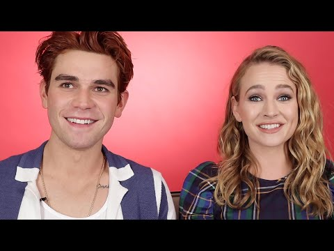 KJ Apa And Britt Robertson Find Out How Well They Know Each Other