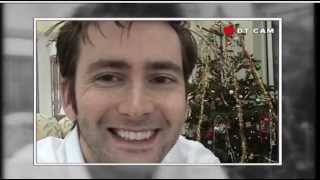 David Tennant watches The Christmas Invasion at home
