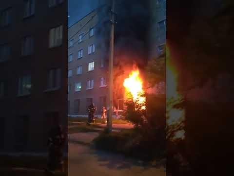 Пожар на Ломоносова,50