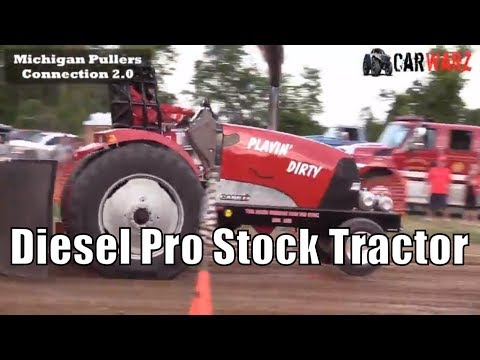Diesel Pro Stock Tractor Class At TTPA In Carsonville MI Day 01 2018