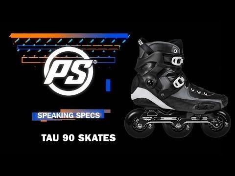 Video POWERSLIDE Boots TAU Noir Blanc