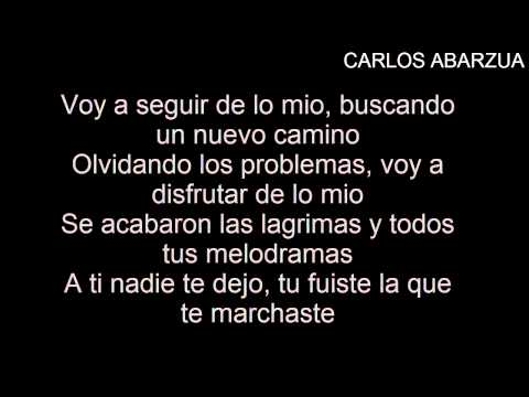 Si Tu No Estas (Letra) Nicky Jam Ft De La Ghetto