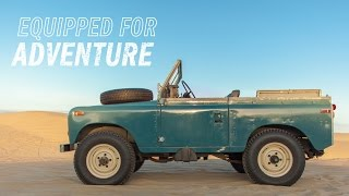 The Land Rover Series III Is Equipped For Adventure