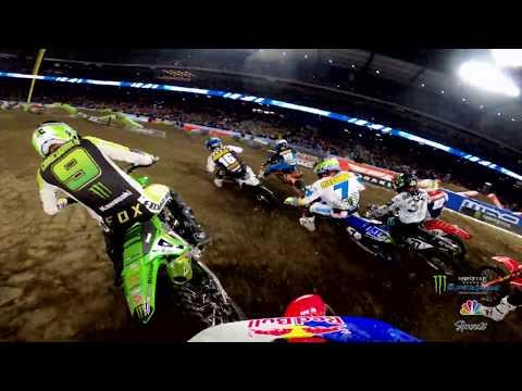 GoPro: Cianciarulo and Roczen 450 Heat Race Battle - 2020 Monster Energy Supercross From Anaheim 2