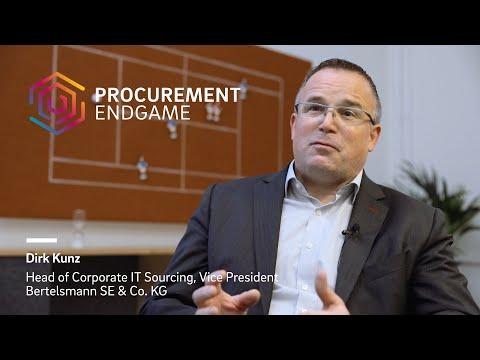 Dirk Kunz (Bertelsmann) on The Procurement Endgame