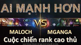 Liên Quân Mobile: Tướng mới nhất MALOCH đấu với MGANGA - Sức mạnh của kẻ đến từ địa ngục