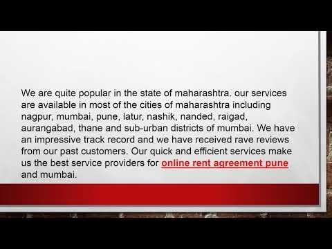 Online Rent Agreement Pune | Online Rent Agreement Mumbai - Renteement