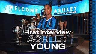 ASHLEY YOUNG | Exclusive first Inter TV Interview | #WelcomeAshley! 🎙️⚫️🔵 [SUB ITA]