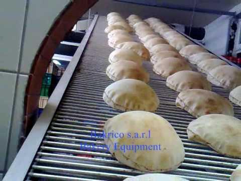 3 Rows-Bakrico Bakery Equipment Lebanon .wmv بكريكو لمعدات المخابز - رشاد أحمد بكري