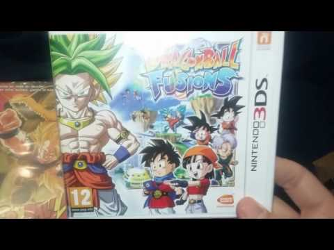 Brevísimo unboxing de Dragon Ball Fusións de 3DS