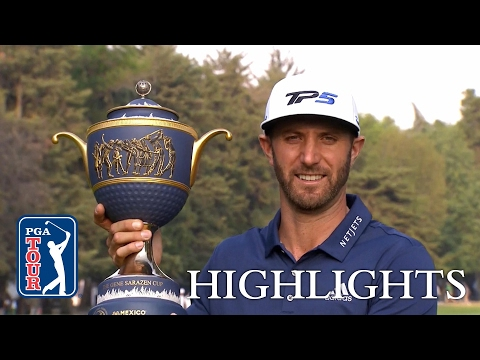 Highlights   WGC Mexico Championship Final Round   Dustin Johnson's at it again