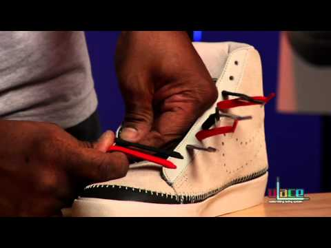 How to lace your sneakers: Bar Lacing / Parallels with U-LACE ★★★★★