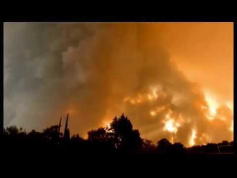 Unprecedented EF3-Equivalent FIRENADO Incinerates Homes In California