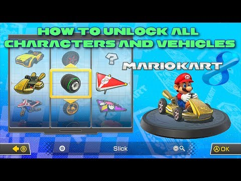 File Blast How To Unlock Characters In Mario Kart Wii Youtube