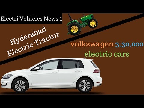 Electric Vehicles News 1: 500 e-Vans by Grofers, VW 3,30,000 Electric Cars