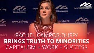 Rachel Campos-Duffy brings TRUTH to minorities: capitalism + work = success