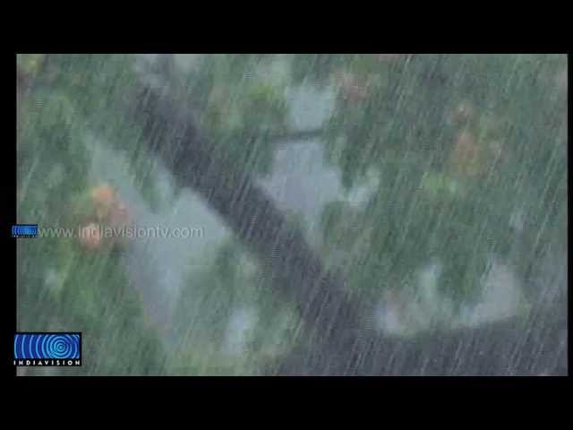 Heavy rain caused widespread damages at northern Kerala