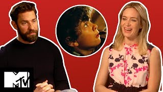 A Quiet Place SCARIEST Moments – Emily Blunt & John Krasinski Reveal Favourites | MTV Movies