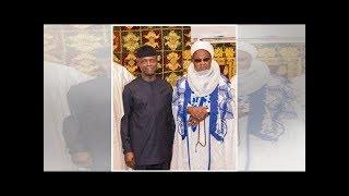 How Emir of Buhari's hometown described Osinbajo in Daura