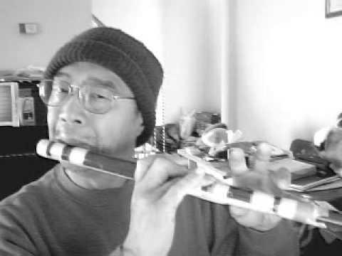 Playing CDizi - 許冠傑 天才白痴往日情 in C