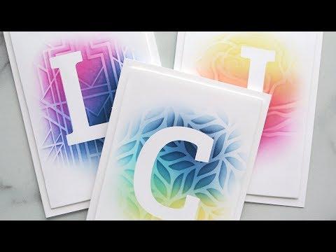 Masking & Stencil Blending - Make a Card Monday #280