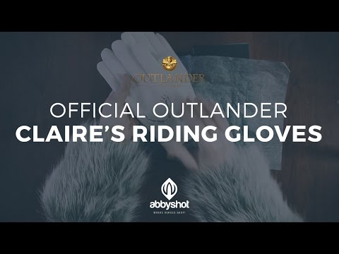 Official Outlander Claire's Riding Gloves - AbbyShot