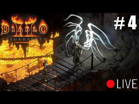 Diablo 2 Resurrected - Hell Sorceress Livestream Part 4